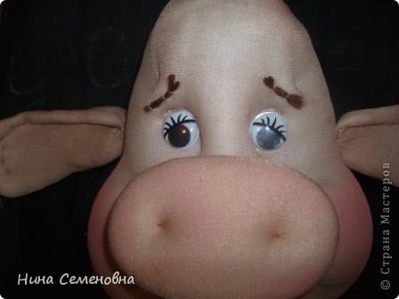 Куклы Шитьё: Буренка, мастер-класс Капрон. Фото 37