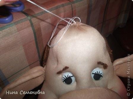 Куклы Шитьё: Буренка, мастер-класс Капрон. Фото 43