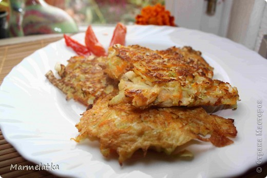Кулинария Рецепт кулинарный: Шницели из капусты