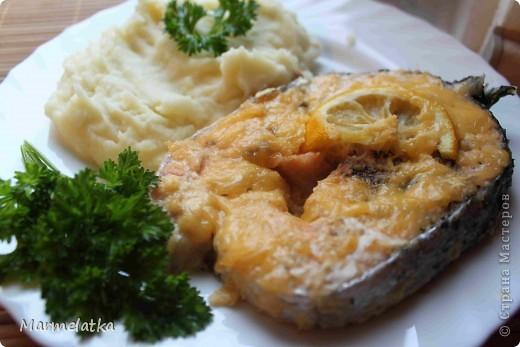 Кулинария Рецепт кулинарный: Семга под сырной корочкой