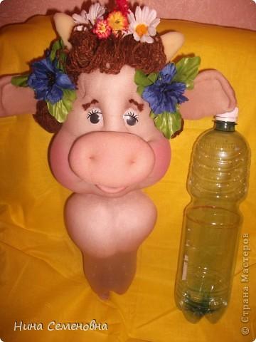 Куклы Шитьё: Буренка Мастер-класс2 Капрон. Фото 3