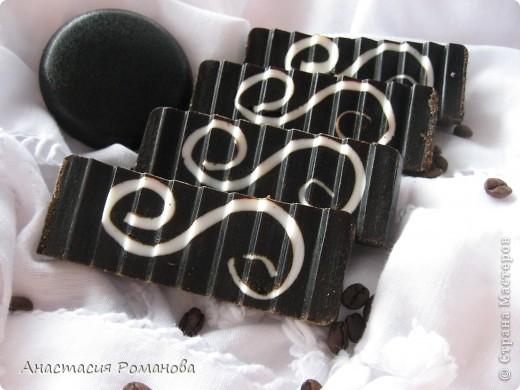 """Мастер-класс Мыловарение: Мыло-скраб """"Ванильный кофе"""" МК  Мыло. Фото 12"""
