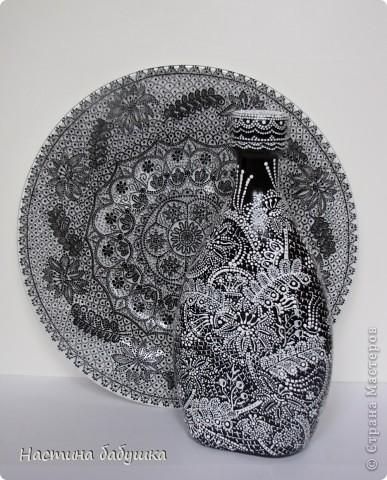 Декор предметов Роспись: Кружевные фантазии Краска. Фото 1