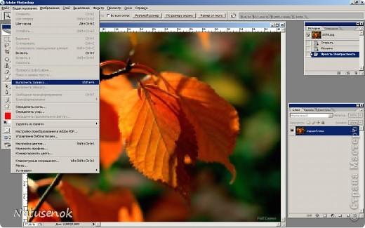 Иногда очень хочется вышить что-то такое-эдакое, например автопортрет. В интернете есть много программ для создания схем, но можно создать схему и при помощи фотошопа. Главное и самое сложное потом подобрать нитки. Не знаю пригодиться ли кому МК. Буду надеяться что пригодиться... ИТАК.... Откройте картинку или фотографию в графическом редакторе. Фото 12