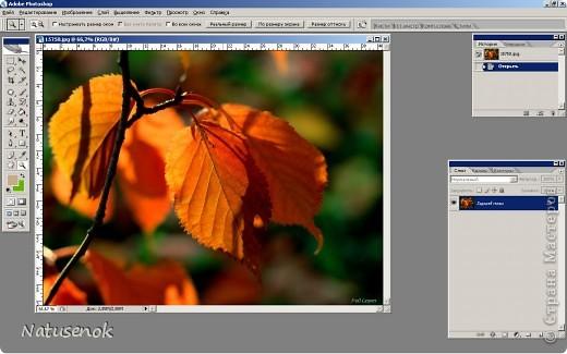 Иногда очень хочется вышить что-то такое-эдакое, например автопортрет. В интернете есть много программ для создания схем, но можно создать схему и при помощи фотошопа. Главное и самое сложное потом подобрать нитки. Не знаю пригодиться ли кому МК. Буду надеяться что пригодиться... ИТАК.... Откройте картинку или фотографию в графическом редакторе. Фото 1