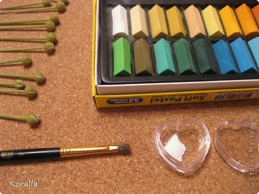 Мастер-класс Лепка: Анемоны МК №1 Фарфор холодный. Фото 35