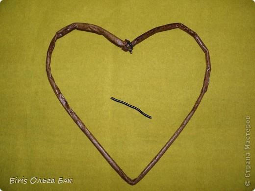 Это мой усовершенствованный  и уже немного систематизированный вариант плетенного сердца.. Фото 7
