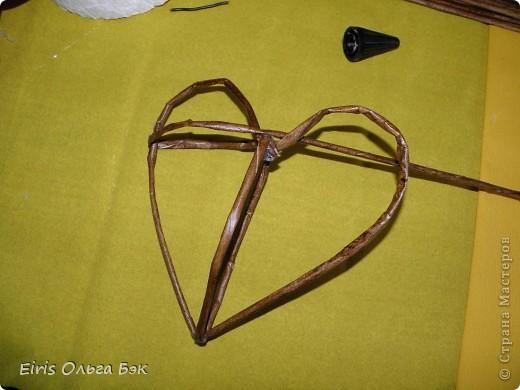 Это мой усовершенствованный  и уже немного систематизированный вариант плетенного сердца.. Фото 8