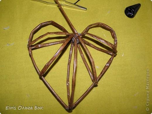 Это мой усовершенствованный  и уже немного систематизированный вариант плетенного сердца.. Фото 9