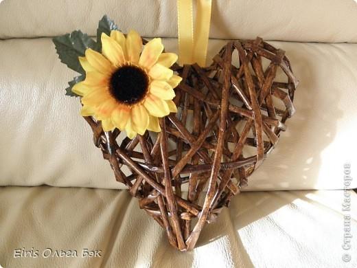 Это мой усовершенствованный и уже немного систематизированный вариант плетенного сердца.. Фото 16