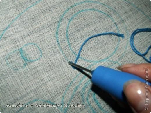 Вышивка петлями специальной иглой мастер класс 85