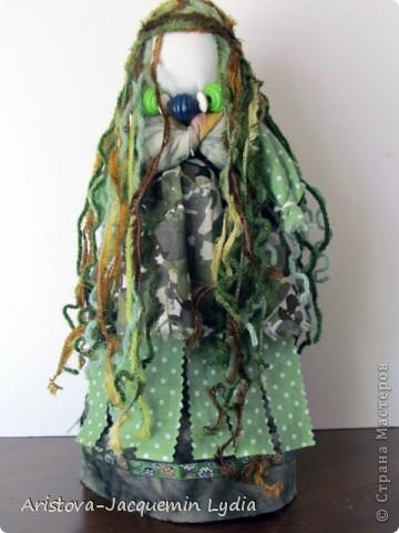 Куклы, Мастер-класс, Оберег Шитьё: Русалка - традиционная обереговая кукла Вата, Нитки, Пряжа, Ткань Отдых. Фото 1