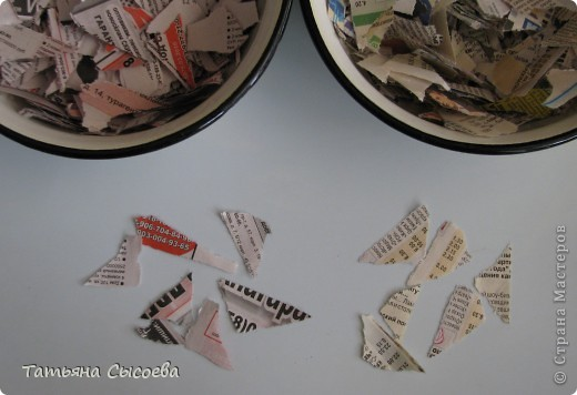Мастер-класс, Поделка, изделие Папье-маше: Дракон на елку. Папье-маше. МК Бумага газетная, Клей Новый год. Фото 5