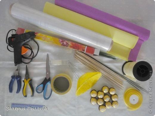 Мастер-класс, Свит-дизайн Бумагопластика: Сладкий букет