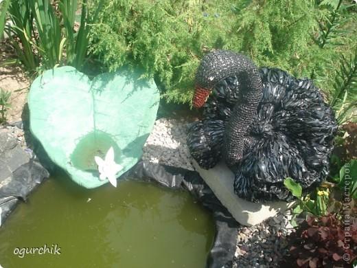 Как сделать из зонта лебедей