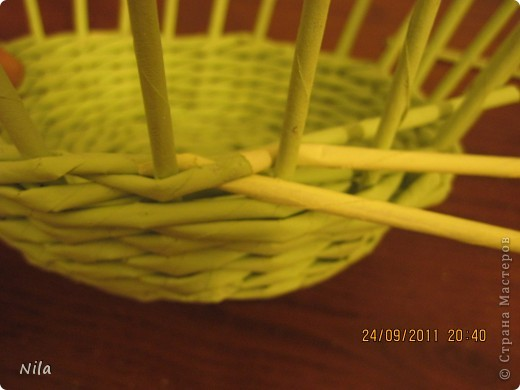 Мастер-класс Плетение: Так, между прочим... Бумага газетная. Фото 16