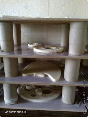 Материалы и инструменты Лепка: Сушим поделки,может кому пригодится! Тесто соленое. Фото 2