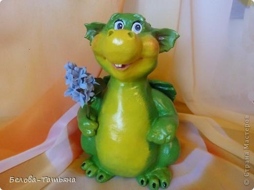 Мастер-класс Лепка: Готовимся к новому году! лепим дракончика М. К. Тесто соленое. Фото 1