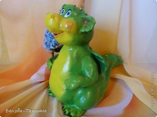 Мастер-класс Лепка: Готовимся к новому году! лепим дракончика М. К. Тесто соленое. Фото 2