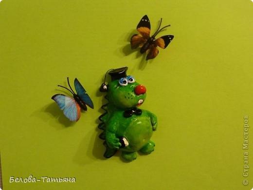 Мастер-класс Лепка: Готовимся к новому году! лепим дракончика М. К. Тесто соленое. Фото 37