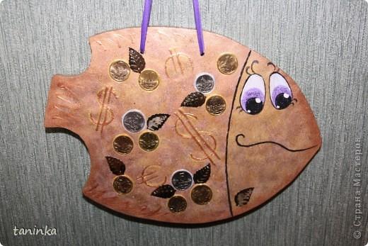 Декоративные рыбы из гипса своими