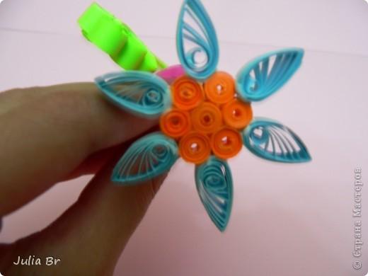 Мастер-класс Квиллинг: Цветы из бумаги Бумага. Фото 16