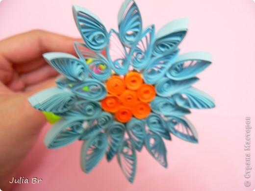 Мастер-класс Квиллинг: Цветы из бумаги Бумага. Фото 17