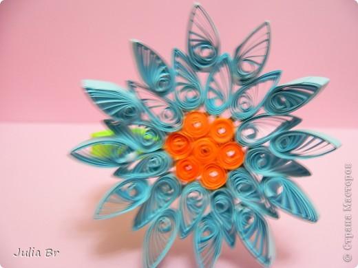 Мастер-класс Квиллинг: Цветы из бумаги Бумага. Фото 18