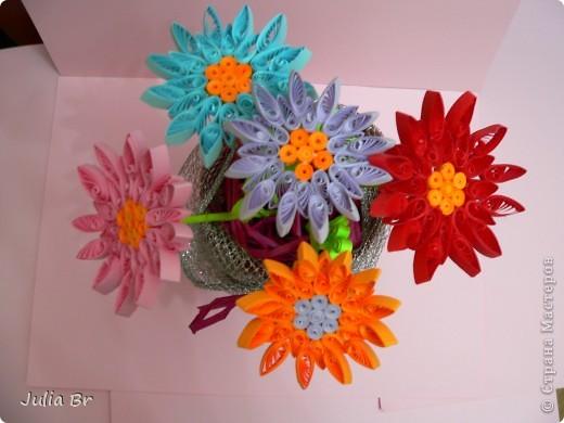 Мастер-класс Квиллинг: Цветы из бумаги Бумага. Фото 1