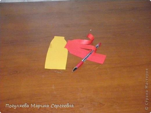 Мастер-класс Моделирование: Золотая рыбка Нитки. Фото 6