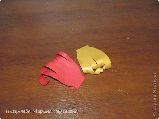 Мастер-класс Моделирование: Золотая рыбка Нитки. Фото 7