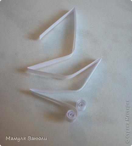 Мастер-класс Квиллинг: Кружевное чудо Бумага, Бумажные полосы. Фото 4
