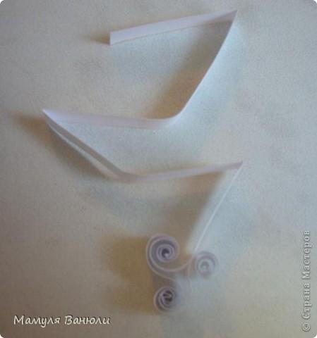 Мастер-класс Квиллинг: Кружевное чудо Бумага, Бумажные полосы. Фото 5