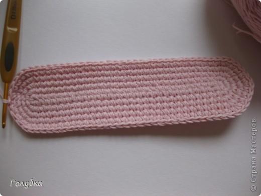 Гардероб Вязание крючком: Балетки для кокетки Пряжа. Фото 4