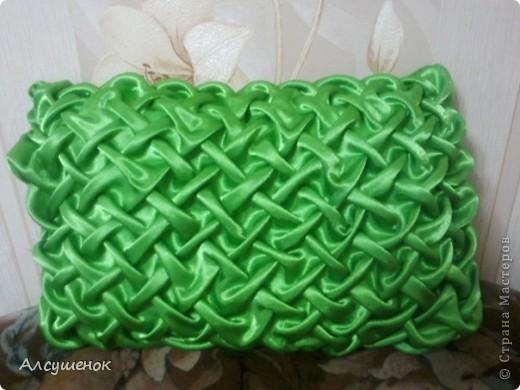 Декор предметов Шитьё: Подушки буфы Ткань.  Фото 3.