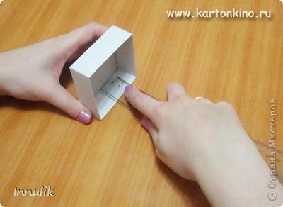 Как сделать квадратную коробочку