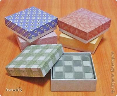 Мастер-класс, Поделка, изделие, Упаковка Мыловарение: Коробочка для мыла: быстро и просто Картон Дебют. Фото 1