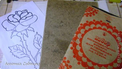 """Картина, панно, рисунок, Мастер-класс, Поделка, изделие  Аппликация: Картина """"Роза"""" из крупы Бисер, Клей, Крупа. Фото  2"""