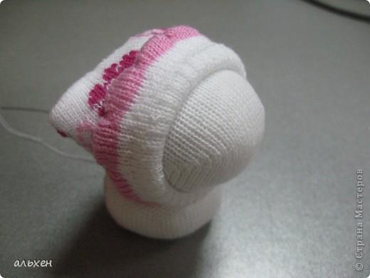 Куклы, Мастер-класс Шитьё:  Чудики..... или как я их делала..... Бусинки, Нитки, Носки Новый год. Фото 17