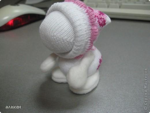 Куклы, Мастер-класс Шитьё:  Чудики..... или как я их делала..... Бусинки, Нитки, Носки Новый год. Фото 25