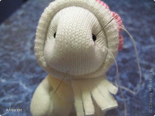 Куклы, Мастер-класс Шитьё:  Чудики..... или как я их делала..... Бусинки, Нитки, Носки Новый год. Фото 28