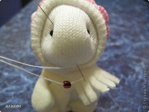 Куклы, Мастер-класс Шитьё:  Чудики..... или как я их делала..... Бусинки, Нитки, Носки Новый год. Фото 29
