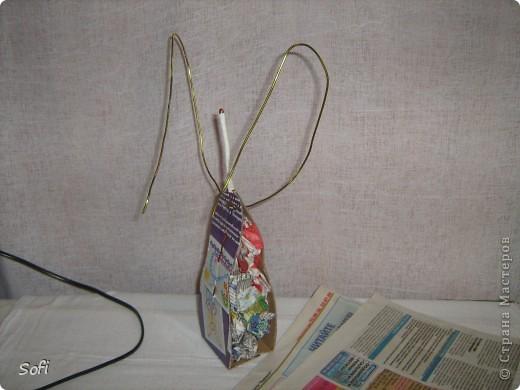 Куклы, Мастер-класс Шитьё: Медсестра. Проволочно-картонный каркас, как делаю это я. Капрон. Фото 8
