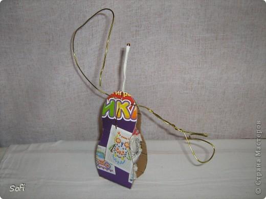Куклы, Мастер-класс Шитьё: Медсестра. Проволочно-картонный каркас, как делаю это я. Капрон. Фото 9