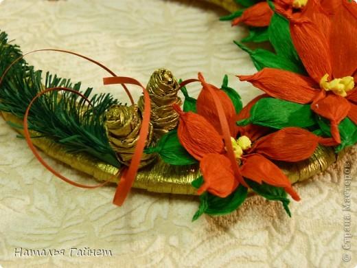 Мастер-класс, Поделка, изделие Бумагопластика, Квиллинг: Подковы-магнитики из подложек и креповой бумаги. Бумага гофрированная, Бумажные полосы, Клей, Материал бросовый, Пенопласт Новый год, Рождество. Фото 18