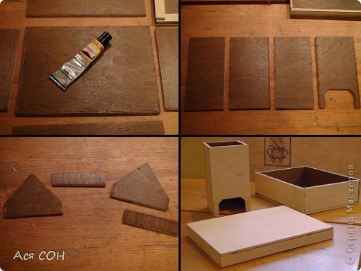 Коробка из фанеры своими руками мастер класс