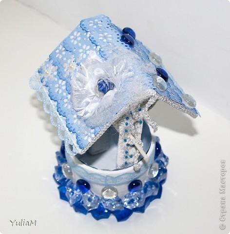 Скрапбукинг Ассамбляж: Волшебный колодец-шкатулка. Фото 1