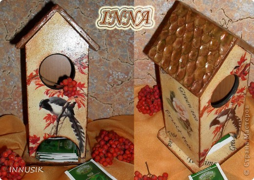 Здравствуйте, дорогие мастерицы и гости Страны Мастеров! Вот и наступила время показать мой первый чайный домик, на всякий случай делала поэтапные фото.. Фото 22