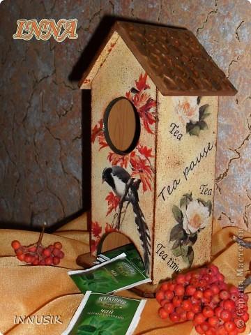 Здравствуйте, дорогие мастерицы и гости Страны Мастеров! Вот и наступила время показать мой первый чайный домик, на всякий случай делала поэтапные фото.. Фото 23