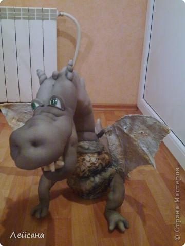 Куклы, Мастер-класс Шитьё: Дракон в скульптурном текстиле Новый год. Фото 1